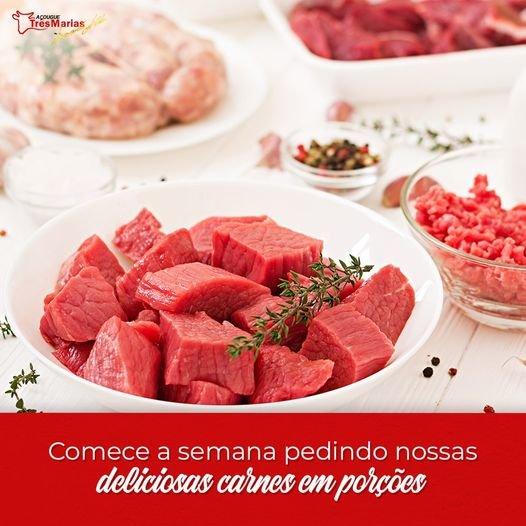 Carnes em porções